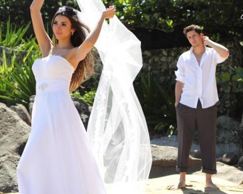 Qual o traje ideal para um casamento na praia?