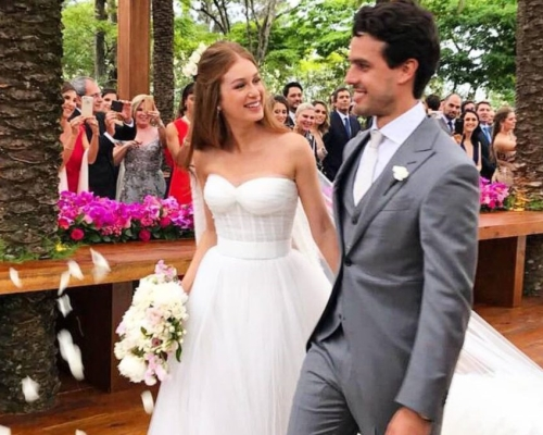O casamento de Marina Ruy Barbosa