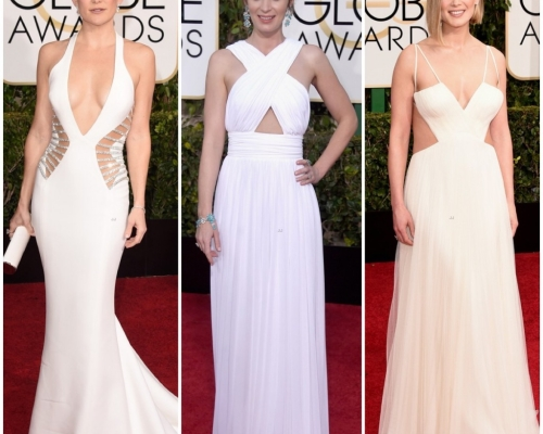 Os vestidos lindos que desfilaram no Red Carpet