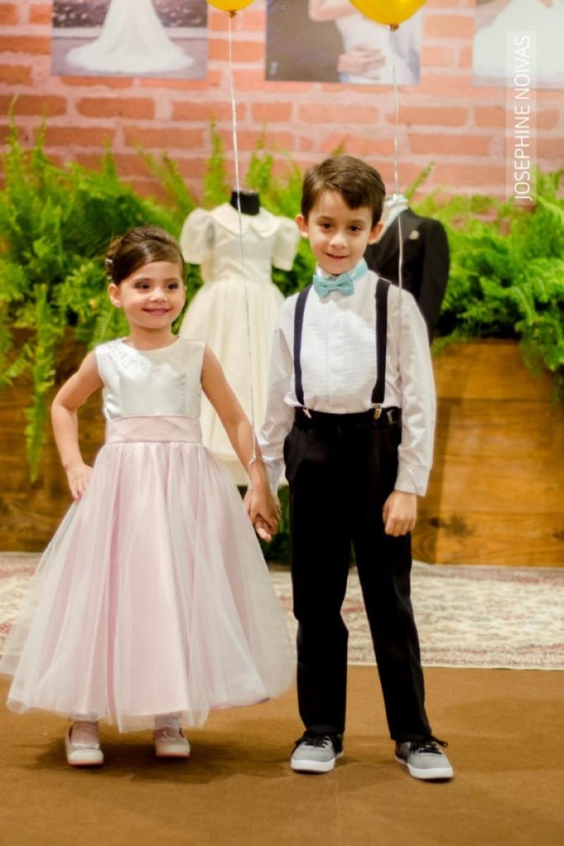 Vestido de Dama e Pajem