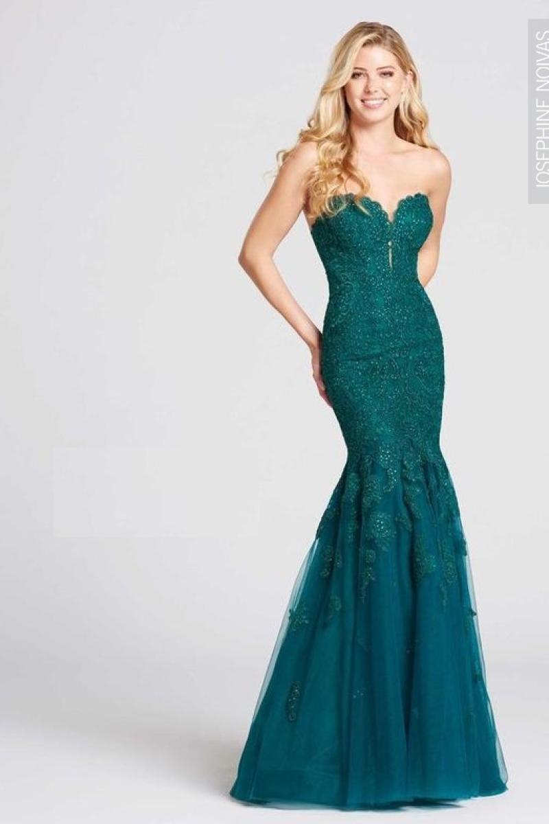 Vestido de Festa – Sereia Tomara que Caia Verde Esmeralda