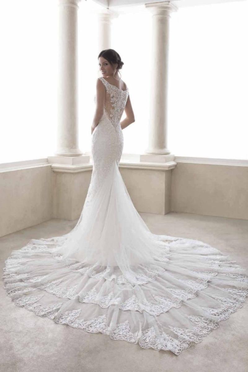 Vestido de Noiva Sereia Ombro a ombro