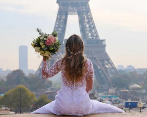 Ensaio Noiva: Casamento em Paris