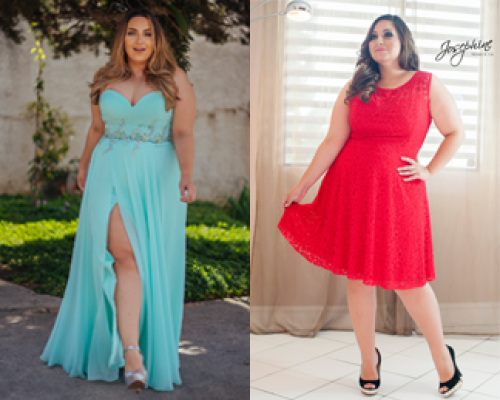 Dicas para a escolha do vestido plus size perfeito!