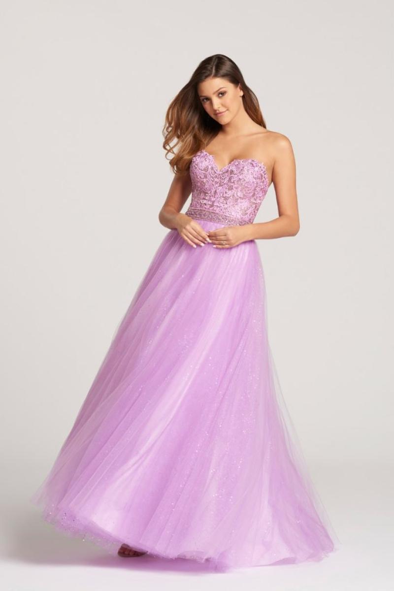 Vestido de Debutante na cor lilás