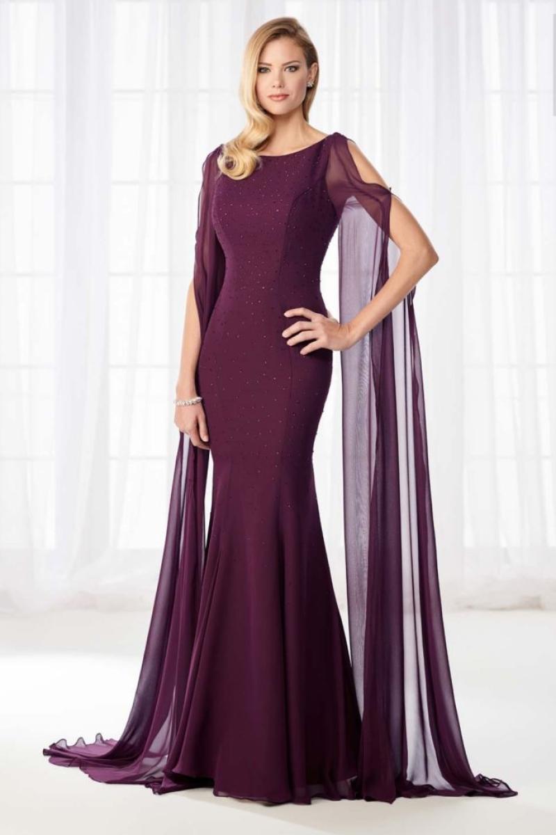 Vestido de Festa – Sereia na cor Uva