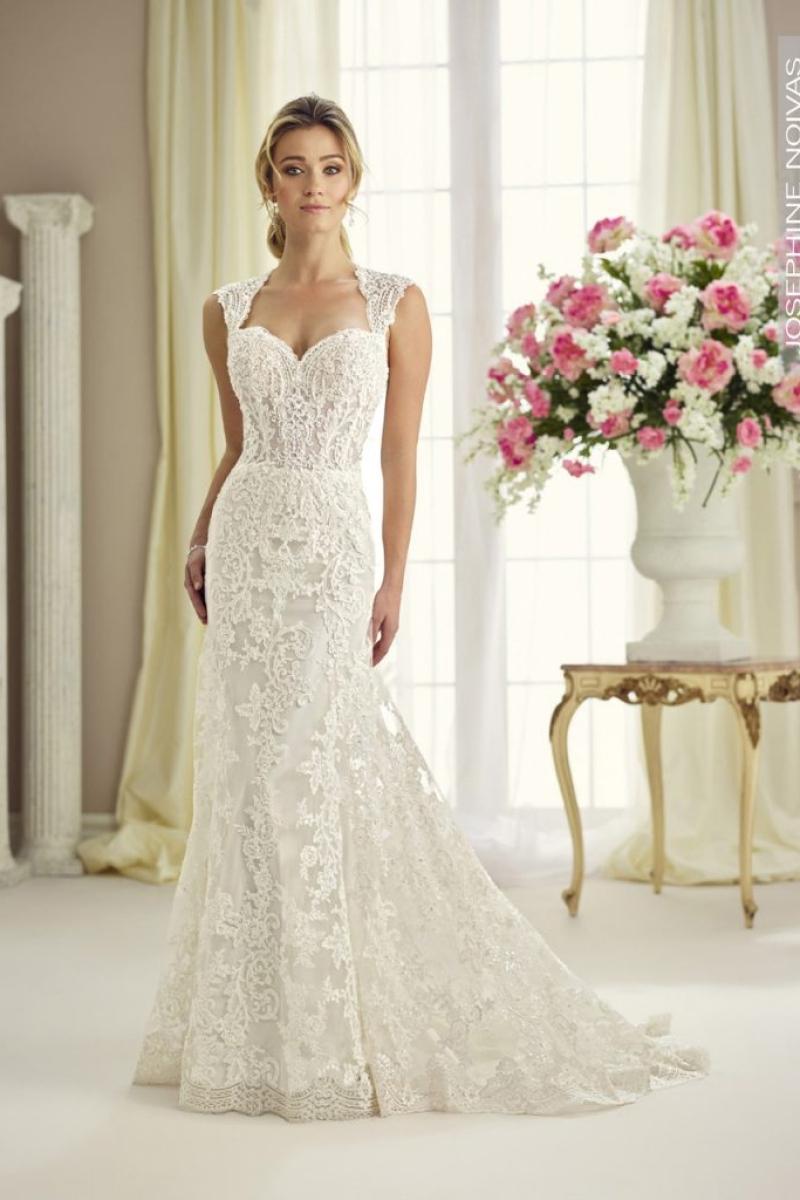 Vestido de Noiva – Assereiado em rendas