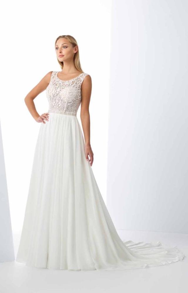 Vestido de Noiva – Evasê fluído