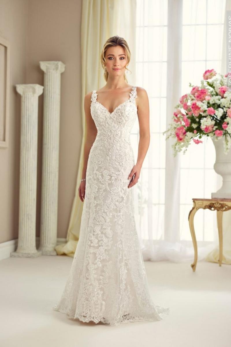 Vestido de Noiva – Semi Sereia Sem mangas