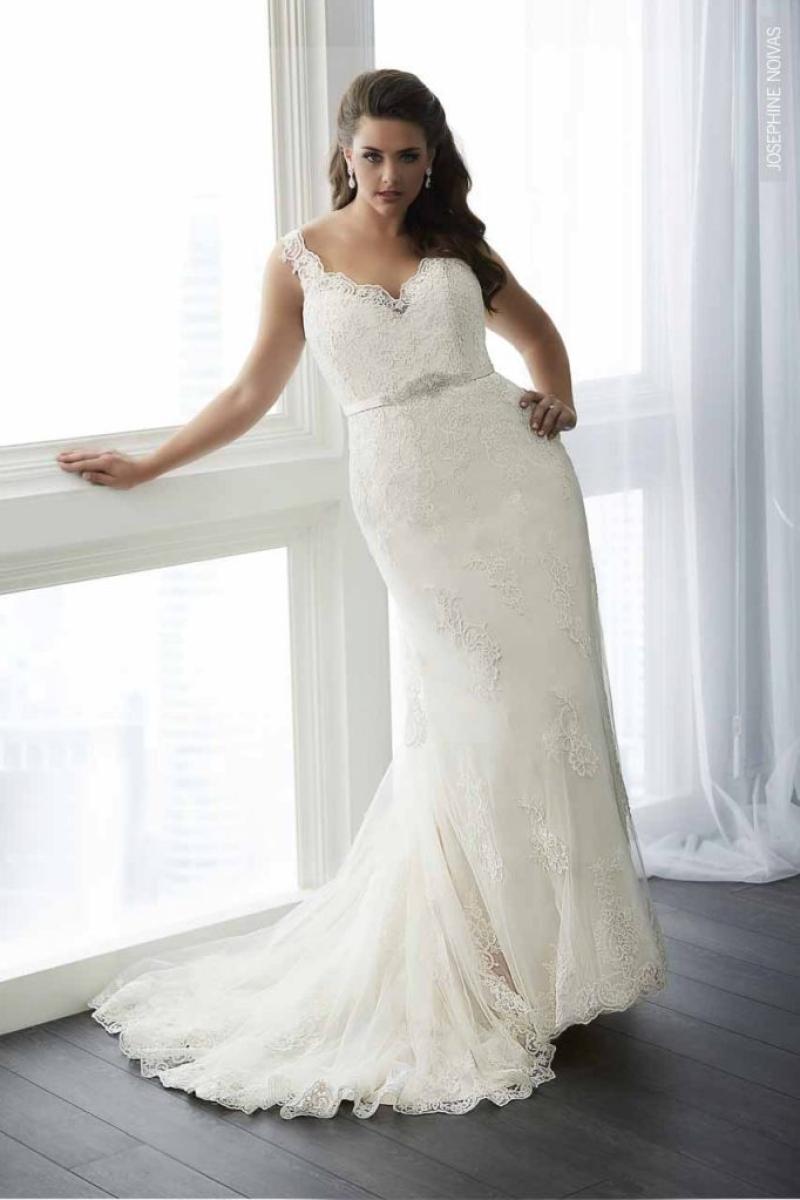 Vestido de Noiva – Semi Sereia com cinto