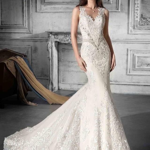 Vestido de Noiva – Sereia de rendas e bordados