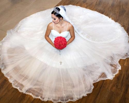 Ensaio inspirador para vestido de noiva