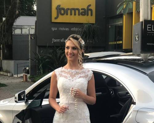 Tendência em vestido de noiva