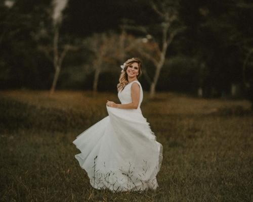 Ensaio Vestido de Noiva em São José dos Campos