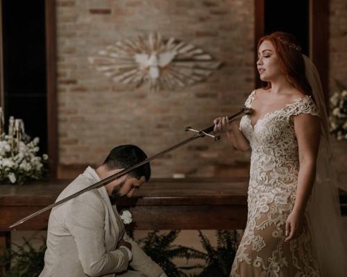 Casamento romântico e cheio de amor | Lari & Marcus