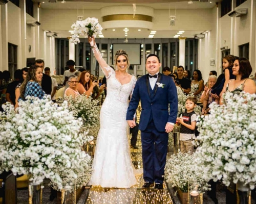 O amor está no ar! | Casamento de Thalita e Leandro