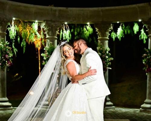 Casamento com um plano de fundo inspirador | Iara e Fabiano