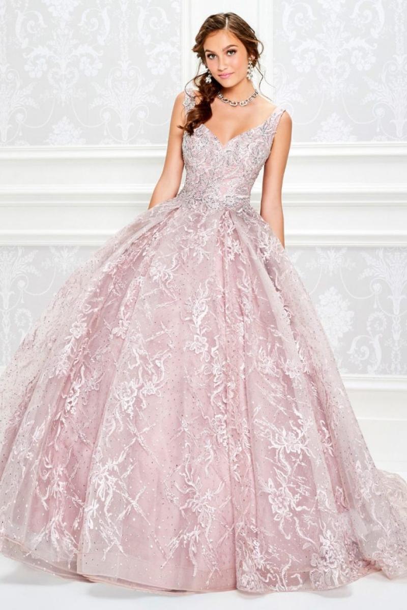 Vestido de Debutante Dust Pink