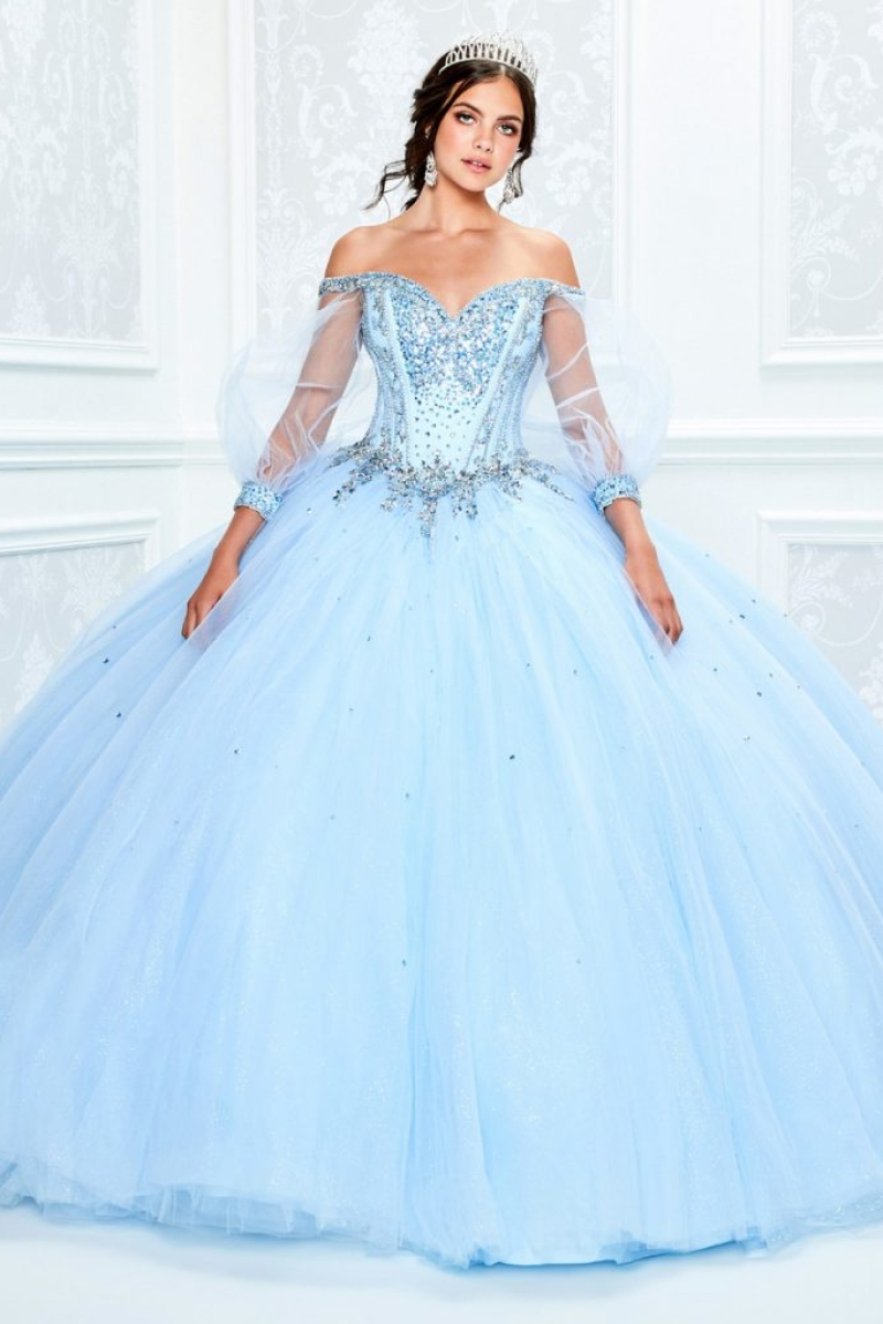 Vestido de Debutante Light Blue