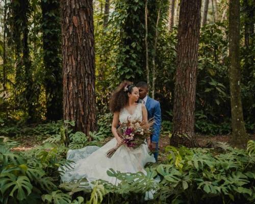 A Ana e o Vini se casaram em uma linda cerimônia Elopement Wedding, com um plano de fundo dos sonhos