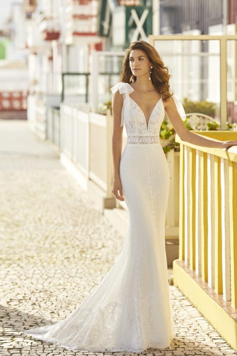 Vestido de noiva Rosa Clará, Heber