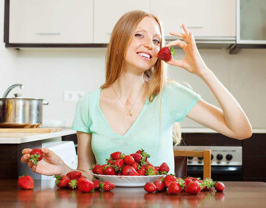 dê preferência as frutas vermelhas antes do casamento
